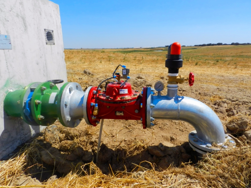 Tomada de Água - Abastecimento Automático a Sistema de Rega Agrícola