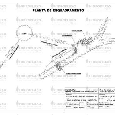 Planta de Enquadramento de Infraestruturas