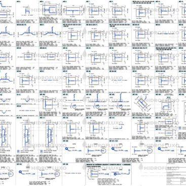 Mapa de Nós em Rede Primária de Abastecimento Urbano de Água