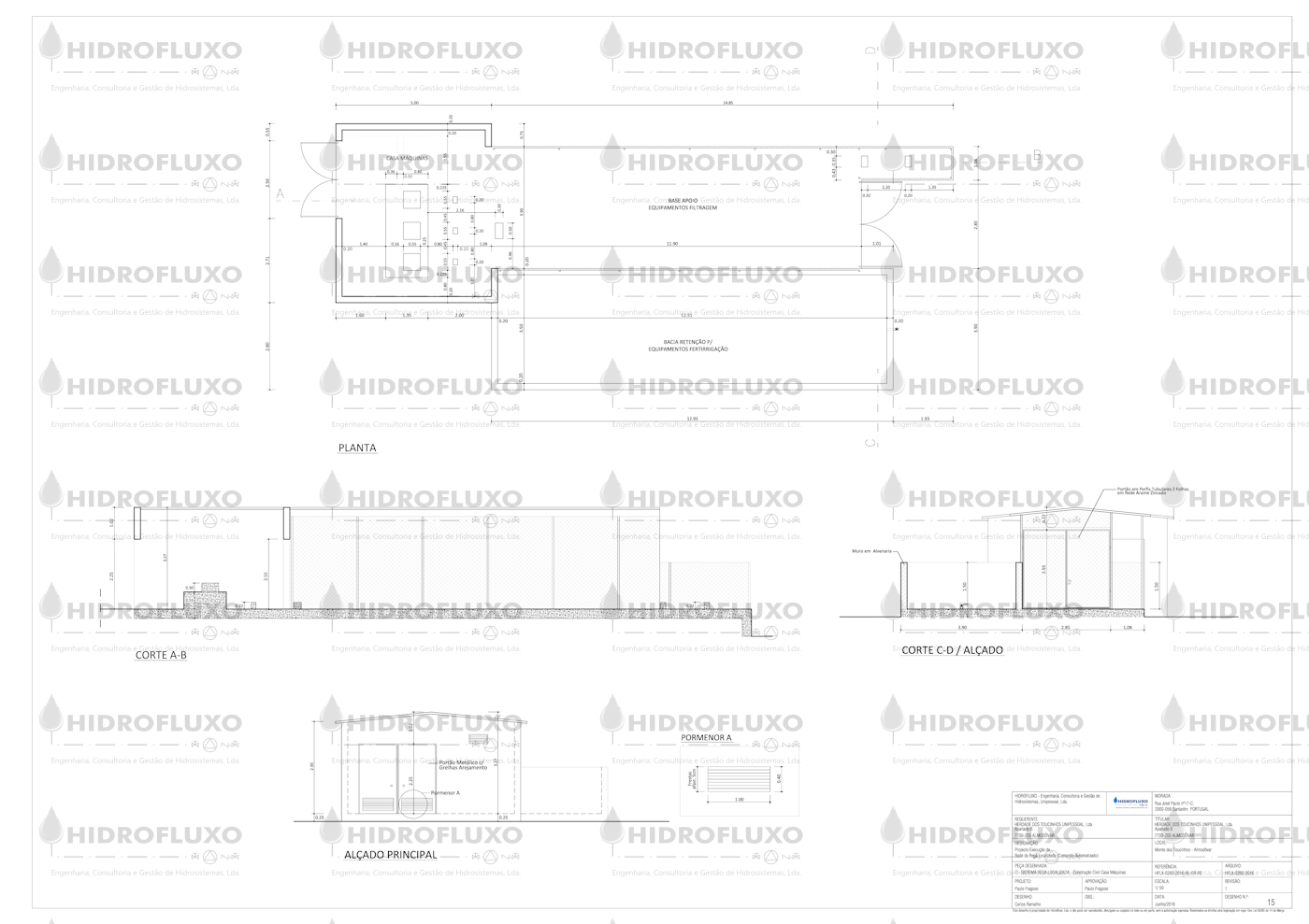 Casa de Máquinas - Construção Civil