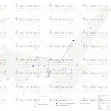 Rede Primária de Distribuição Agrícola – Planta